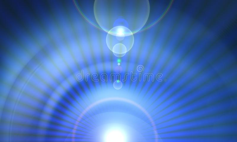 Abstract blur and lights effect Bright flare decoration background vector illustration