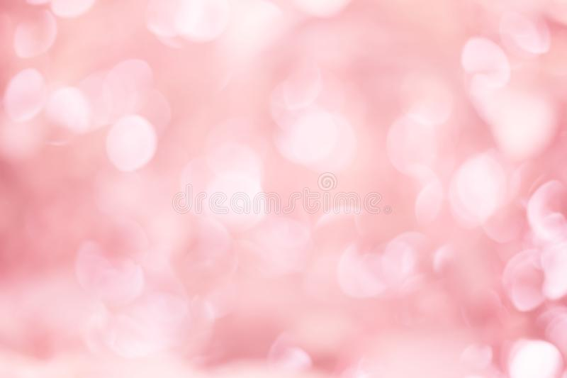 Abstract blur pink color for design, colorful bokeh light background royalty free stock photos