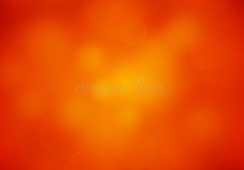 Abstract Blur Red Orange colored background stock illustration