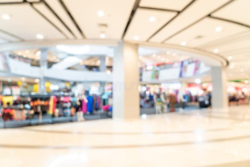 Abstract blur shopping mall. For background stock images