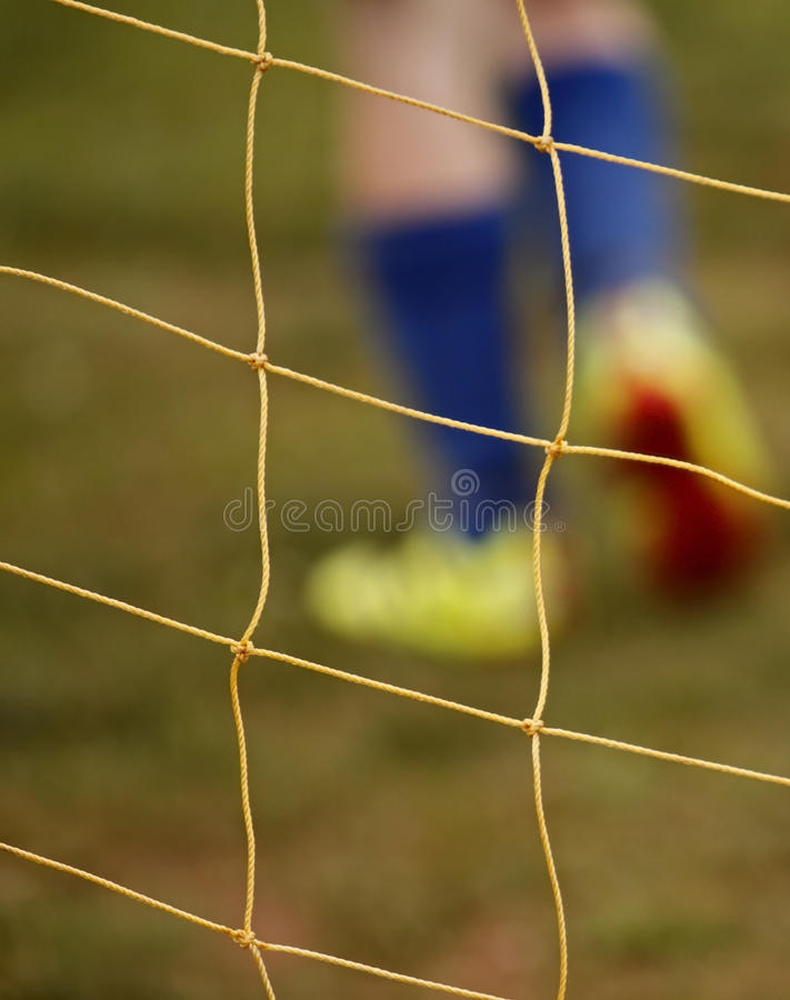 Download Abstract Blur Soccer Net Player Feet Royalty Free Stock Image - Image: 21407226
