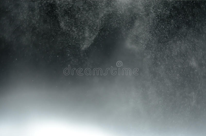 Abstract blur water foggy in black background royalty free stock photos