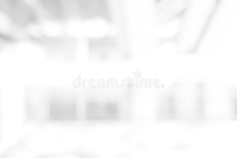 Abstract blur white background. From building hallway stock photos