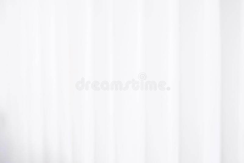 Blur white hospital curtain background. Abstract blur white hospital curtain background royalty free stock photo