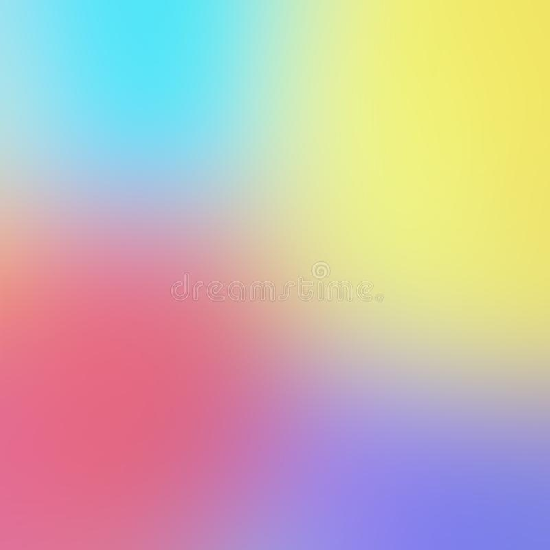 Abstract Blurred Background Of Multicolored Pastel Colors royalty free stock photography