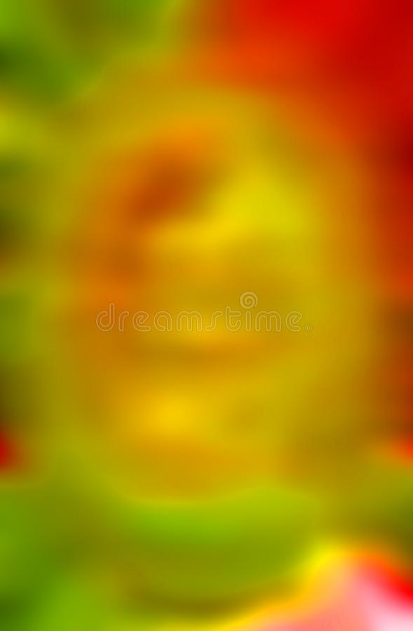 abstract blurred background in red orange yellow and green royalty free stock photography