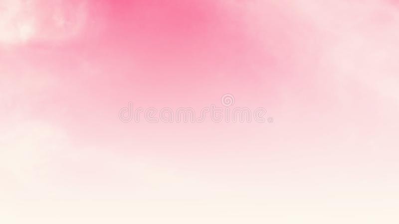 Abstract blurred beautiful soft cloud background with a pastel multicolored gradient concept for wedding card design or stock illustration