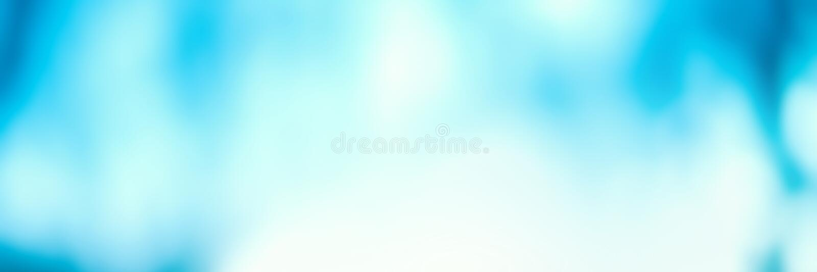 Abstract Blurred blue city lights background scene with soft bo royalty free stock images