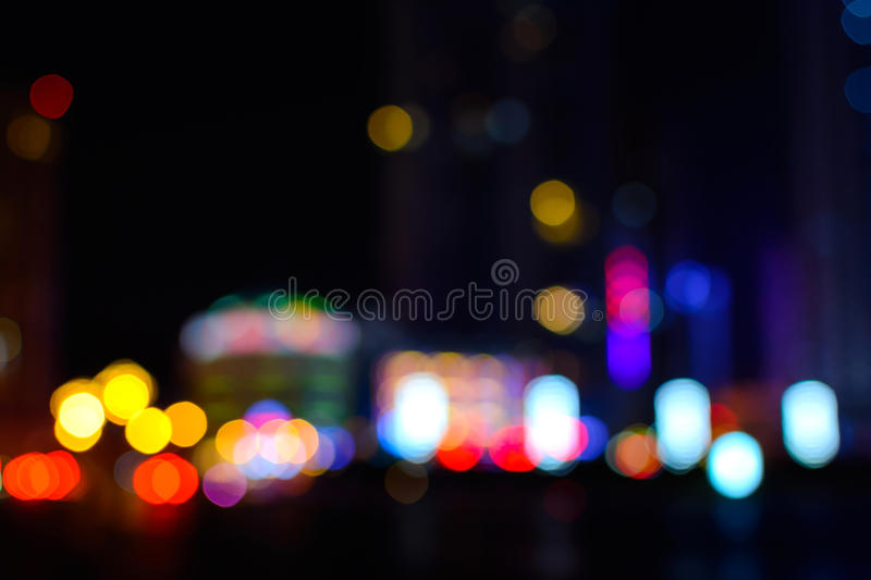 Abstract blurred bokeh background royalty free stock photo