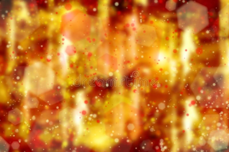 Abstract blurred colorful background with the image of smear prints and paint spots, glow, modern fantasy style. Texture stock photography