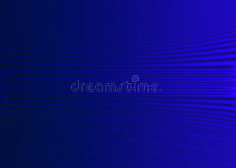 Abstract Curves in Blurred Dark Blue Background vector illustration