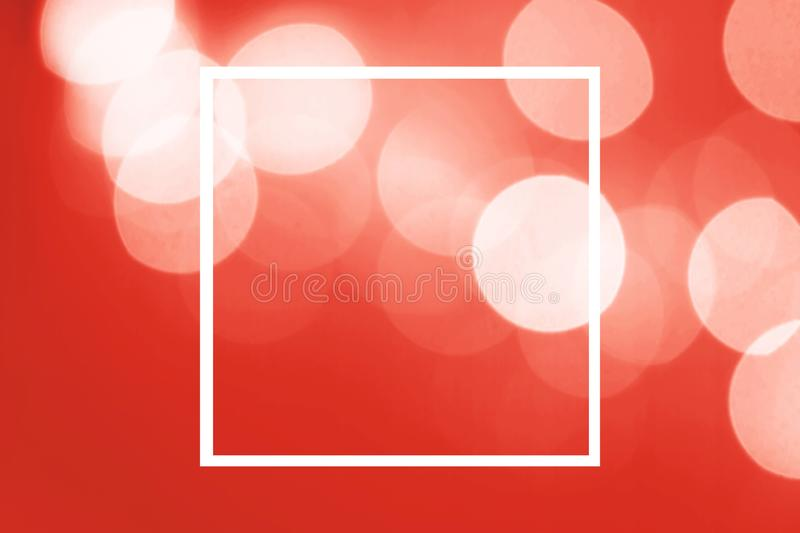 Abstract blurred dark red background with beautiful bokeh effect royalty free illustration