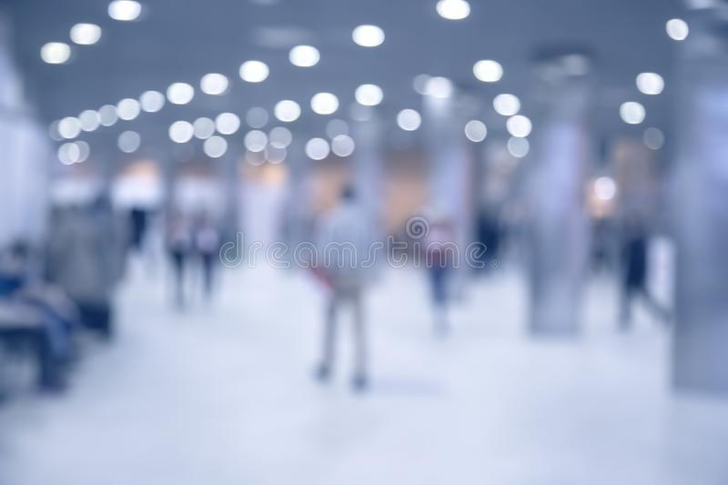 Abstract blurred event with people. For background stock photos