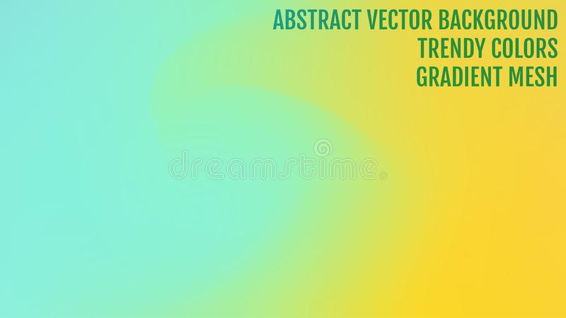Abstract blurred gradient background with light. Modern nature backdrop. Ecology concept for your graphic design, banner or. Poster, user interface and app stock illustration