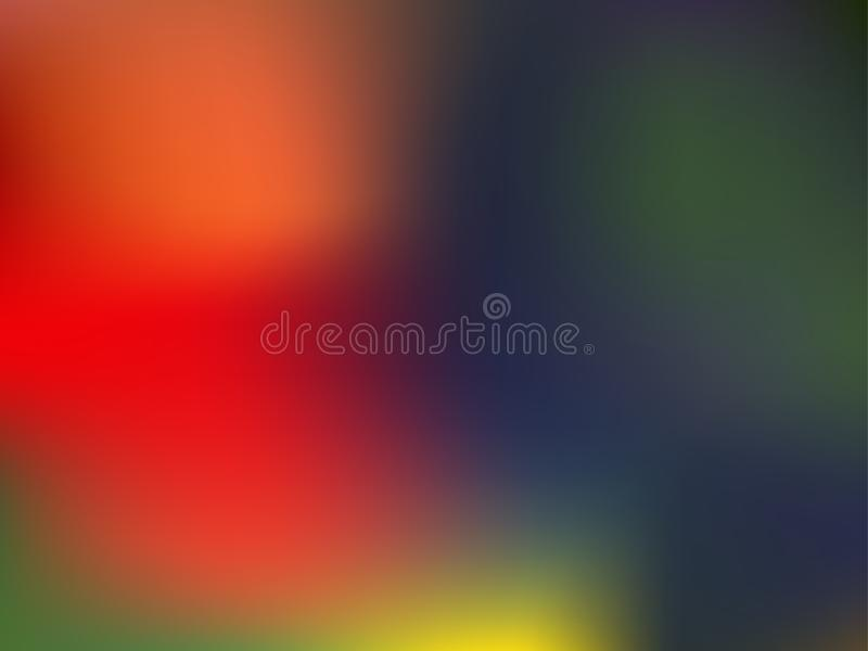Abstract blurred gradient mesh background. Bright color backdrop. Art in EPS10 royalty free illustration