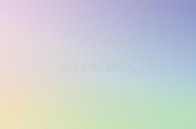 Abstract blurred gradient mesh background in bright rainbow colors. Colorful smooth banner template royalty free stock photos