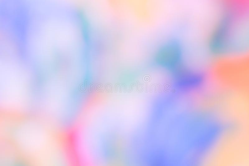 Abstract blurred gradient mesh background in bright rainbow colors. Colorful smooth banner template. Easy  soft colored vector illustration