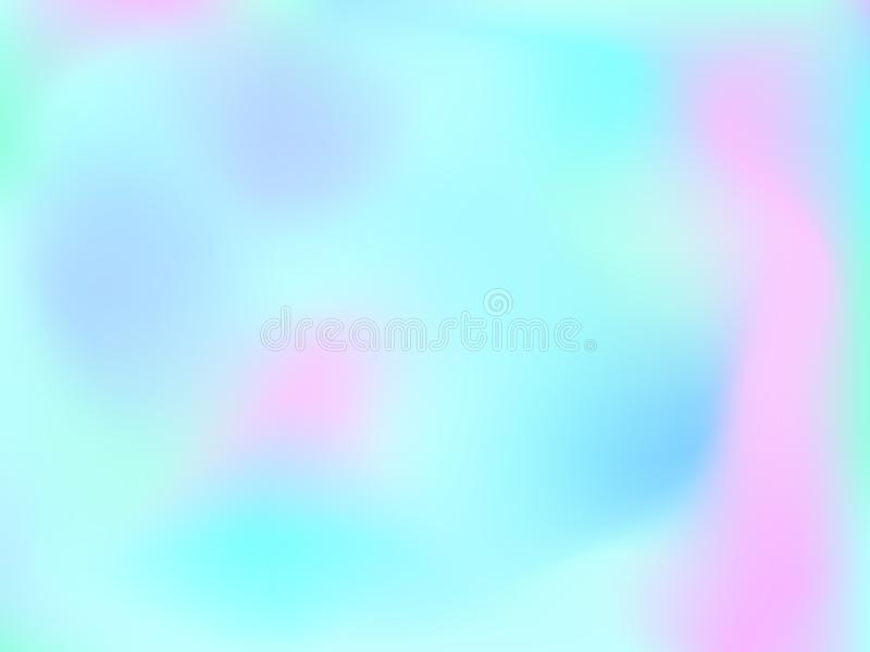 NGradient mesh abstract background. Abstract blurred gradient mesh background. Colorful smooth banner template.Trendy creative vector. Intense blank Holographic vector illustration
