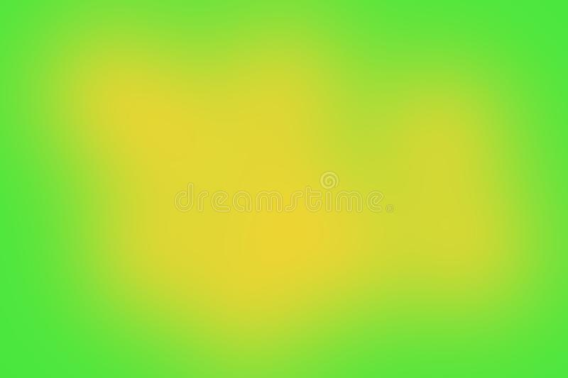 Abstract blurred green and yellow colored background with a smooth gradient Wallpaper brochure banner for your design vector illustration