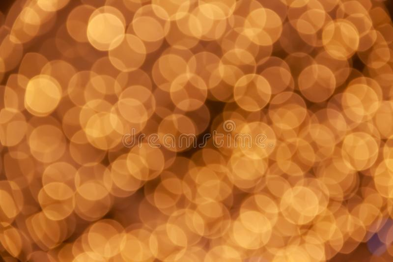 Abstract blurred light background with beautiful bokeh effect. royalty free stock photography