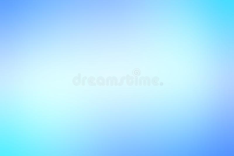 Abstract blurred light blue teal backdrop. Vintage style, soft background.  royalty free illustration