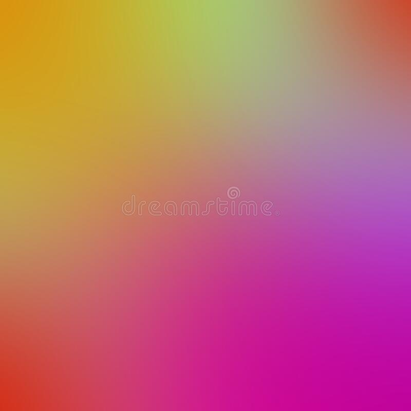 Abstract blurred  Multi color, Rainbow gradient and nobody, gradient, free space for text. Abstract Blurred light colorful gradient and rectangle, nobody vector illustration