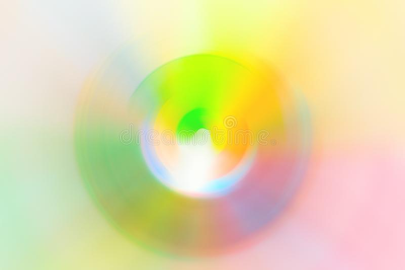 Abstract blurred multicolored swirl radial background spectrum neon vivid colors. Science energy spiritual hypnosis hallucination stock images