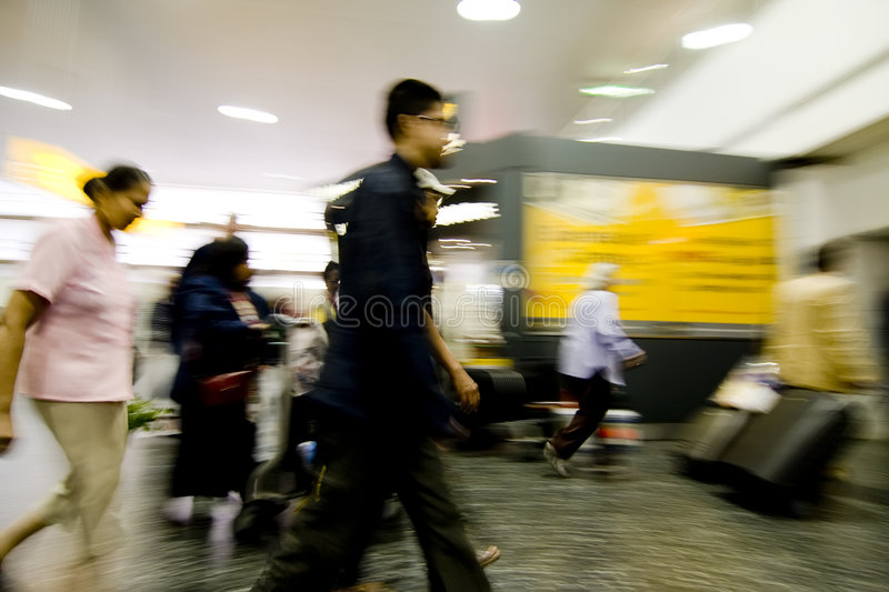 Abstract Blurred People Stock Photos