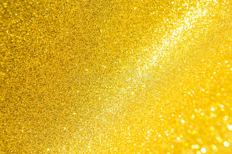 Abstract shiny golden glitter background royalty free stock images