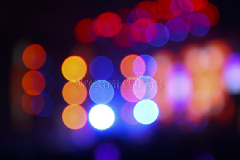 Abstract blurry Background from lighting flare in concert royalty free stock image