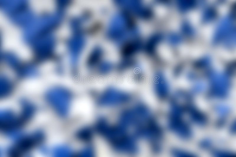 Blurry. Abstract and blurry beautiful and unusual blue-and-white texture royalty free stock image