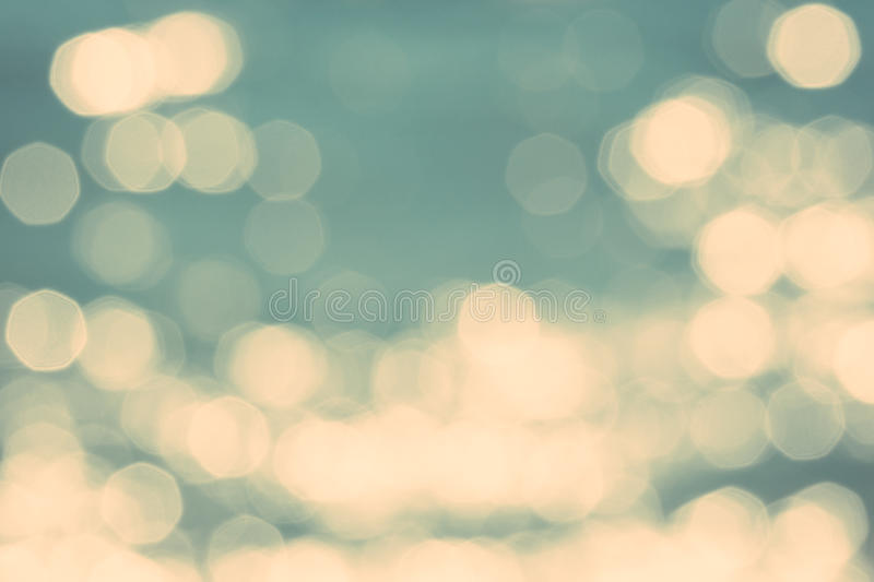 Abstract blurry blue sea ocean background stock image