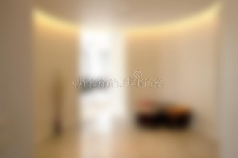 Abstract blurry office background. With light through entrance royalty free stock photos