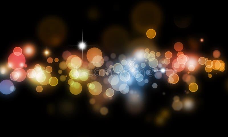 Download Abstract Blurs On Dark Background Stock Illustration - Illustration: 21028737