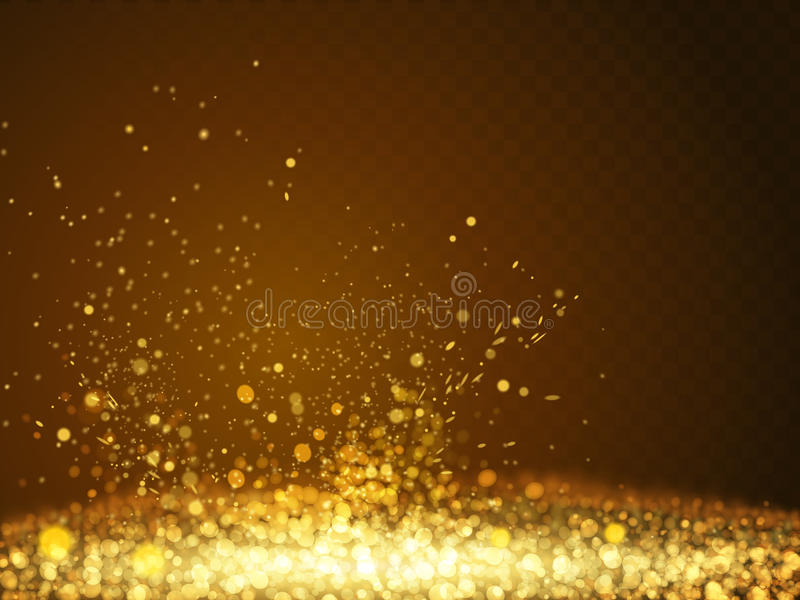 Abstract bokeh background stock illustration