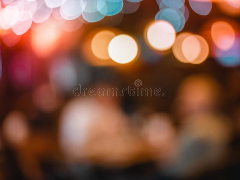 Abstract bokeh blurred colorful night light can use background royalty free stock photos