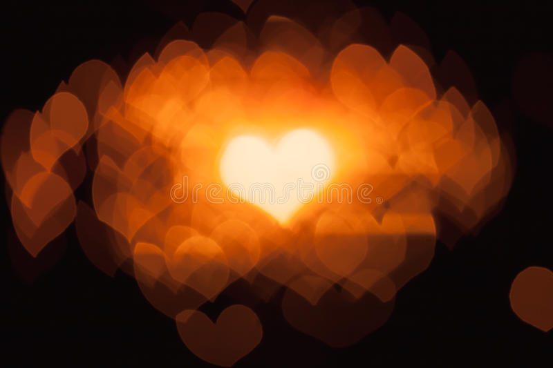 Download Abstract bokeh hearts stock photo. Image of design, sparks - 27081330