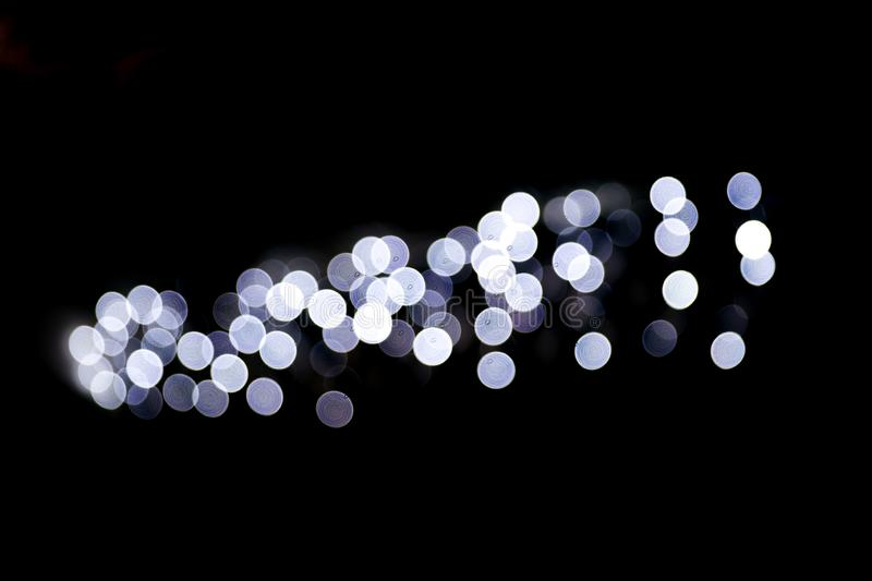 Abstract bokeh lights Christmas background for your design. Abstract bokeh lights background. Festive concept. Place for design royalty free stock images