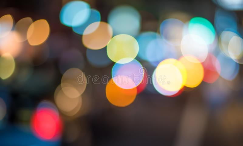 Abstract bokeh lights. Perfect festive background. royalty free stock photography