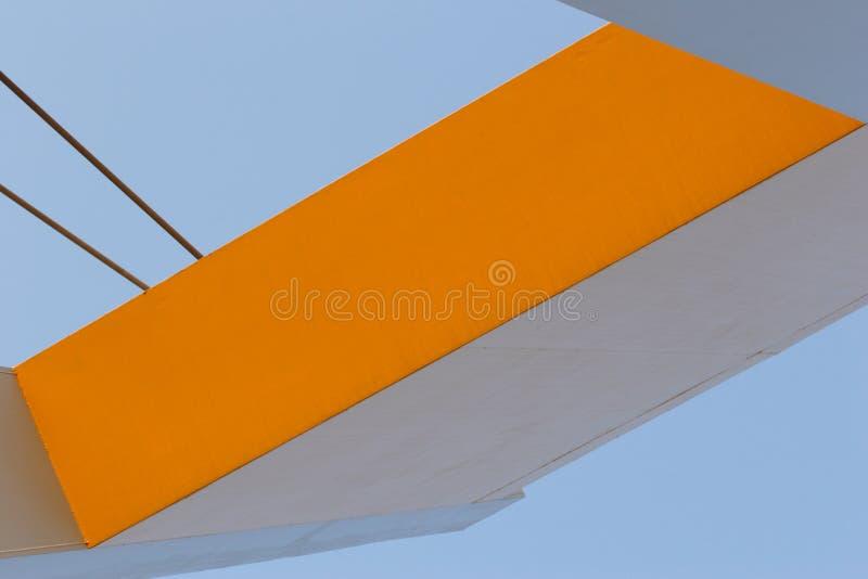 Abstract bridge stock image