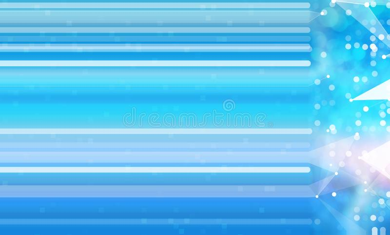 Abstract technology collage background royalty free illustration