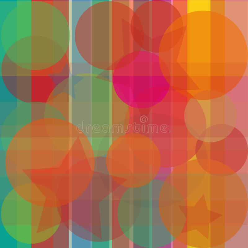 Abstract bright background transparent stock photo