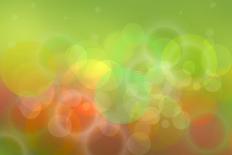 Abstract bright colorful festive bokeh background texture of Happy New Year decoration vector illustration