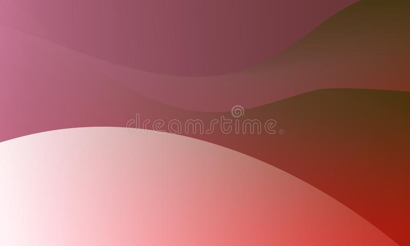 Abstract  Vector Illustration.  wallpaper any uses for backgrounds or screen saver bright red- pink smoothly colors Background. Abstract bright  dark pink camel stock illustration