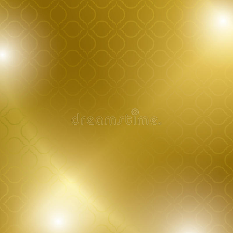 Abstract bright and gold background - vector stock illustration
