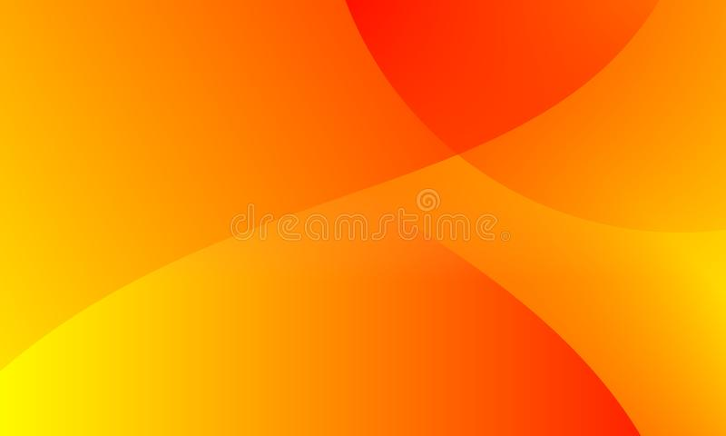 Abstract bright orange yellow colors Background. Vector Illustration royalty free illustration