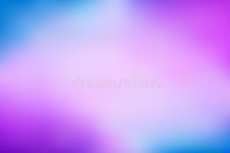 Abstract bright rainbow purple blue gradient, simple satin texture vector illustration