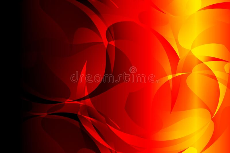 Abstract bright red yellow black colors Background. Vector Illustration vector illustration