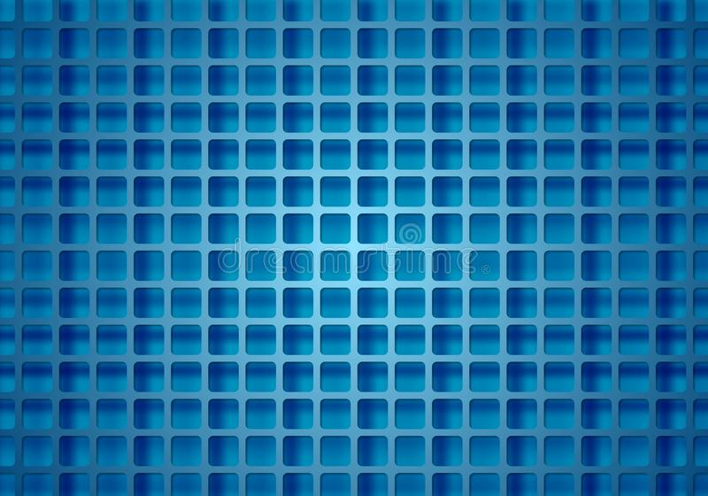 Abstract bright technical squares grid royalty free illustration