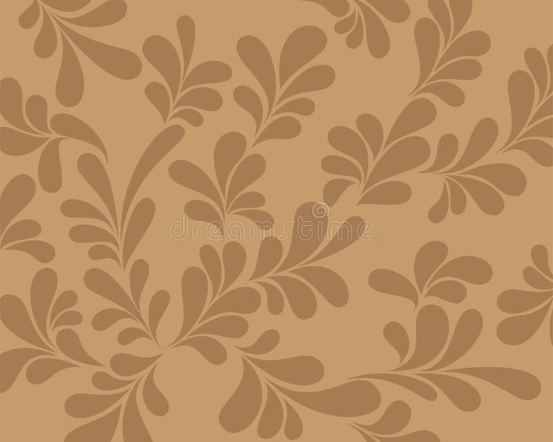 Download Abstract Brown Background Curls. Stock Vector - Illustration: 17318909